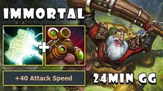 [Sniper] Easy Farm Mid Vs Medusa | 24Min GG with 19Kills and Zero Death FullGame Dota 2 7.21d