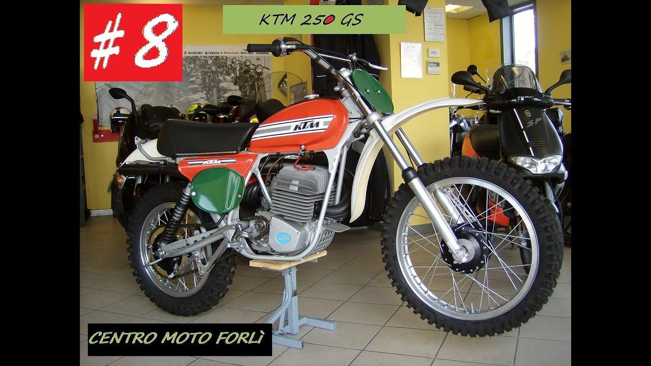 8 ktm gs 250 1974 epoca for sale gopro hd 4k motocross. Black Bedroom Furniture Sets. Home Design Ideas