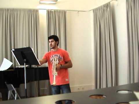 Marco Silva -  Intrada, Honneger ( Trumpet )