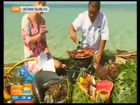 Weekend TODAY Show Live Telecast - Castaway Island, Fiji