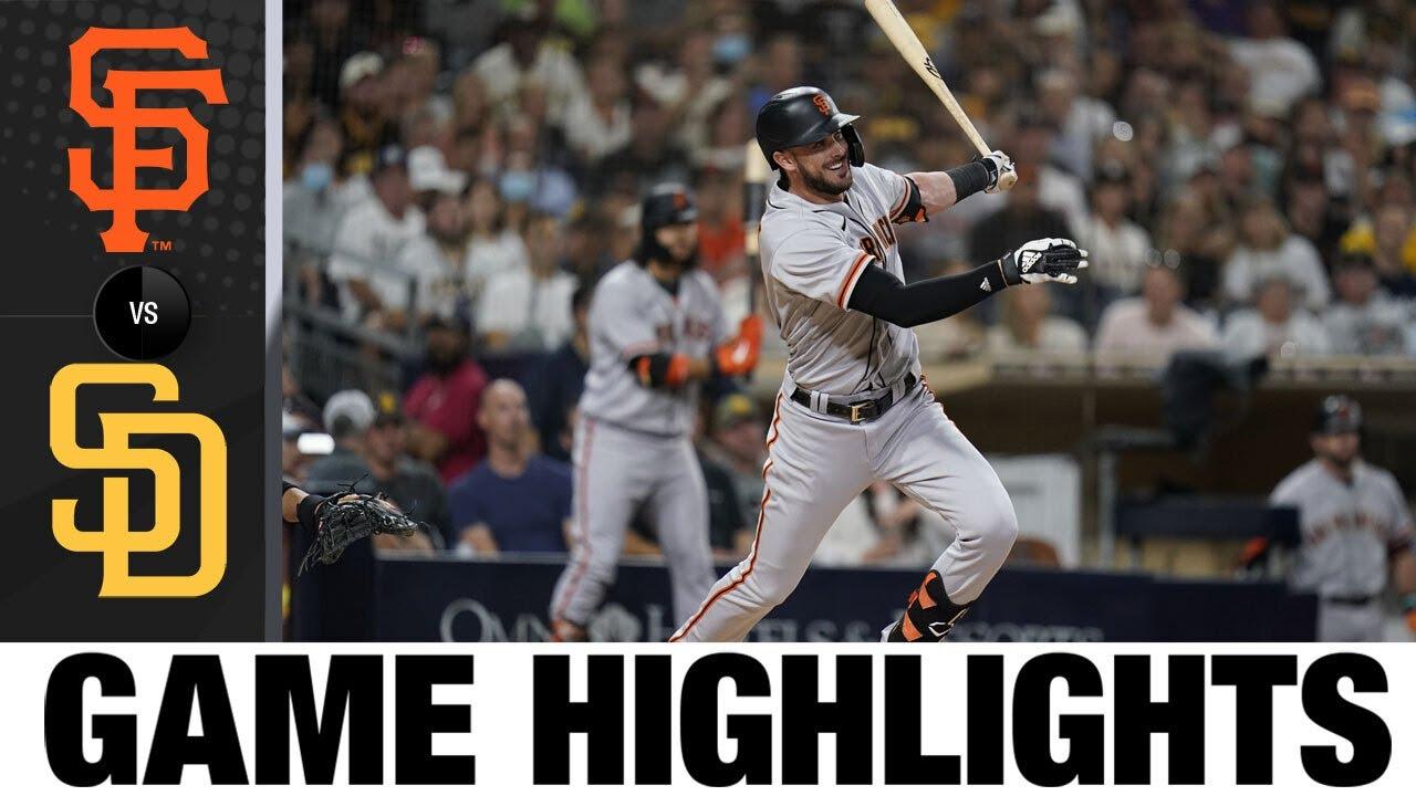 Download Giants vs. Padres Game Highlights (9/22/21)   MLB Highlights