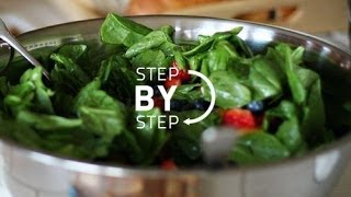 Spinach Salad With Strawberries, Spinach Salad Recipe, Jan Charles