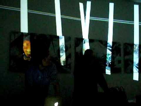 Eberhard Kranemann / Gregor Eisenmann Multimedia-Performance in Utopiastadt, 10. December 2011 - 5