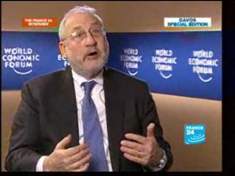 FRANCE 24 The Interview - Joseph Stiglitz comments on the financial crisis