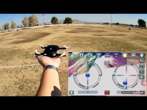 Foldable Pocket Selfie Quadcopter Drone, JJRC H37 2.4G 4CH Elfie Mini Wifi FPV RC Quadcopter with Hi