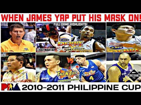 Bmeg Derby Ace vs Talk N Text l Full Game Highlights l 2010-2011 PBA Philippine Cup from YouTube · Duration:  11 minutes 38 seconds