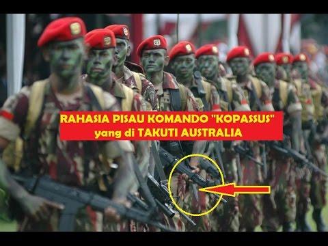 "Rahasia ""Pisau Komando KOPASSUS"" TNI Indonesia Tangguh Yang Melegenda.Pisau Rambo Kalah !"
