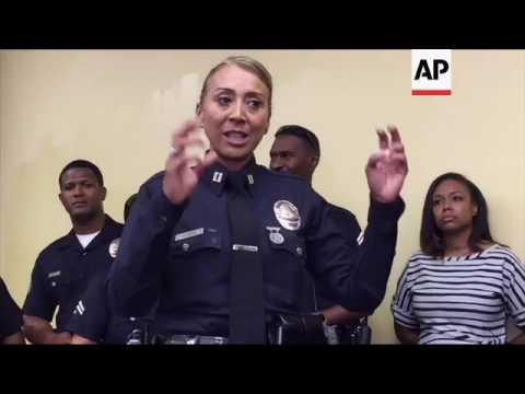 Rodney King's Daughter Teams Up With LAPD