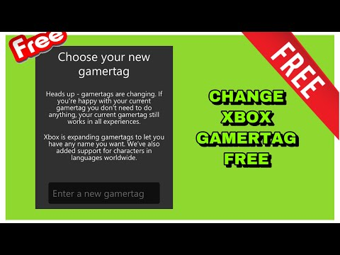 How to change your Xbox Live gamertag for FREE | (Xbox One Free Name Change)