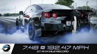 INSANE Drag RACE !! World's Fastest R35 GT-R ALPHA OMEGA
