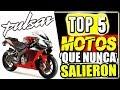 LA HERMANA PERDIDA DE LA PULSAR!! Top 5: MOTOS QUE NUNCA SALIERON (Lo que Hubieran sido)