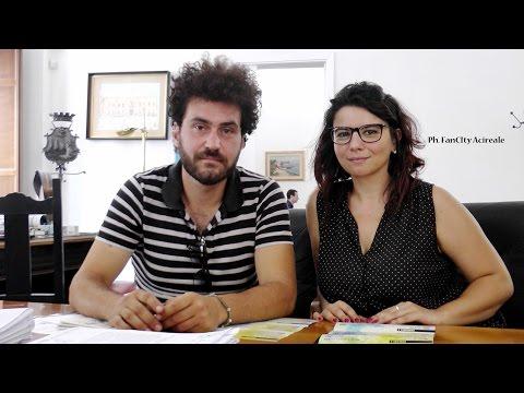 FanCity Acireale - VIII° Edizione di TimpaViva  Intervista a Tiffany Greco e Antonio Pafumi