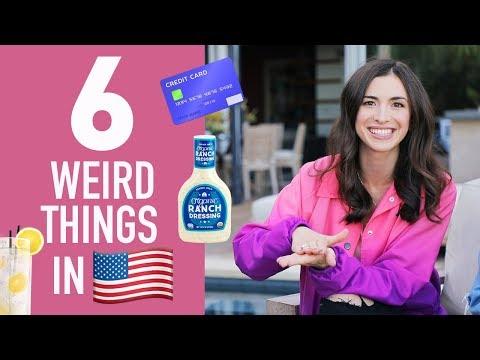6 WEIRD THINGS IN AMERICA 🇺🇸