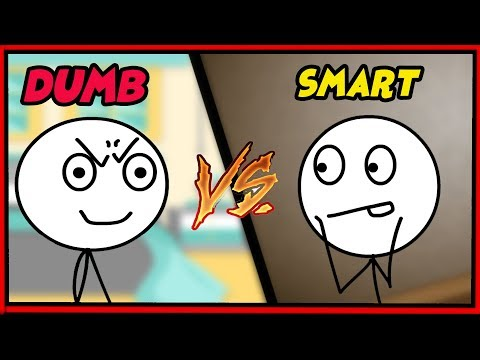 SMART VS DUMB GAMERS!!! PARODY PARODY!!