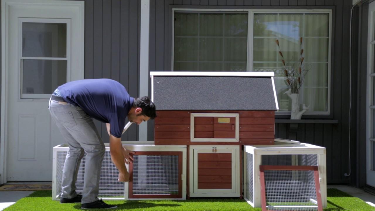 Advantek The Urban Coop Poultry Hutch Compare - Advantek the terrace chicken coop 2 3 hens
