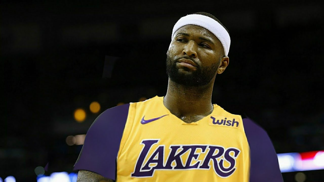 Image result for demarcus cousins lakers