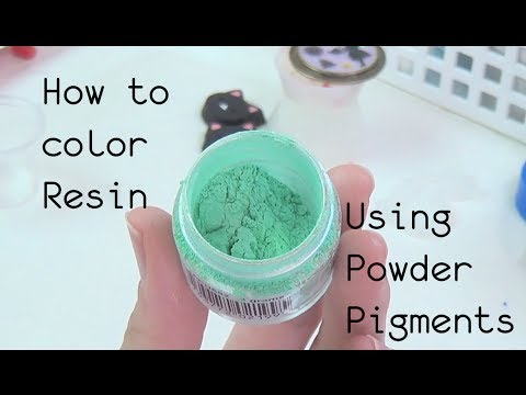Resin Craft Guide #1 How to Properly Mix in Powder Pigments