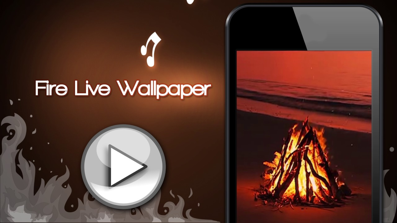 Fire Live Wallpaper With Sound