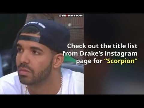 Drake Scorpion Album Release (Stream)