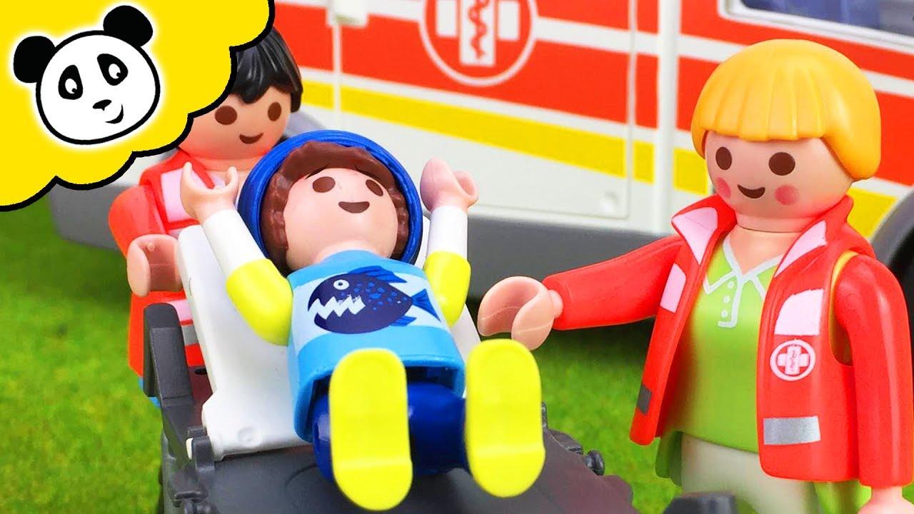 playmobil ausmalbilder krankenhaus  hubschrauber