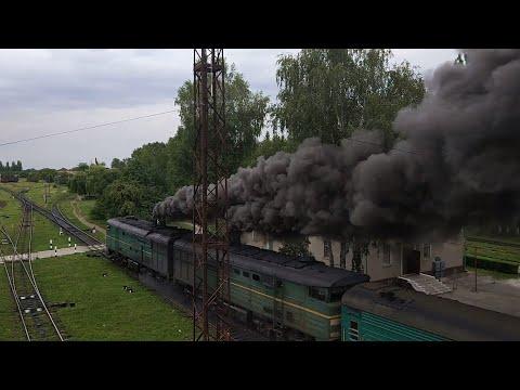 "Отправление поезда #47 со станции Окница. ""Медвед""."