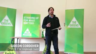 Gideon Cordover for Kingborough Council Launch Speech