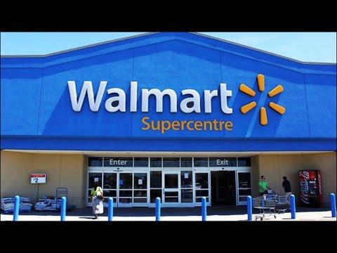 Walmart Supercenter часть1 магазин США Америка