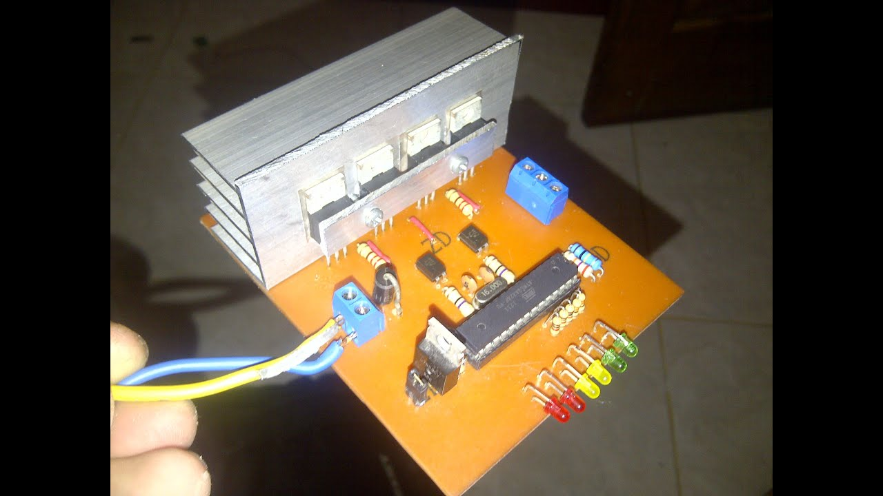 Simple Arduino Sine Wave Inverter Circuit T 500w Modified Controlled By Pic16f628a
