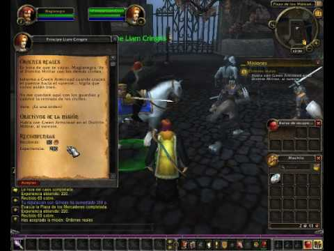Misiones de inicio. Huargen Brujo. World of Warcraft