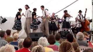 Buffalo Gals Stampede, Priddy Folk Festival 2014
