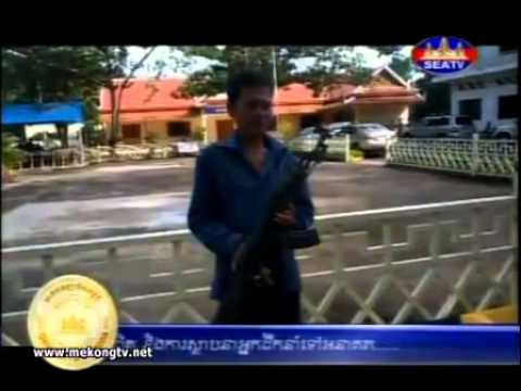 Cambodia Hot News Today 27 September 2014 | Cambodia Illegal Weapon Us