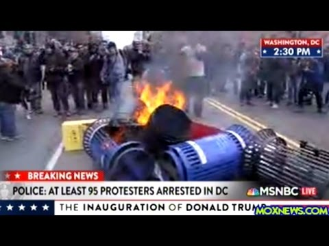 Over 90 Protesters Arrested At Washington DC Protests