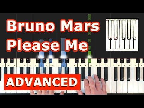 Cardi B & Bruno Mars - Please Me - Piano Tutorial Easy - Sheet Music (Synthesia) thumbnail