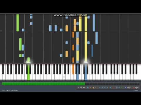 Lagu Nasional Gugur Bunga Synthesia