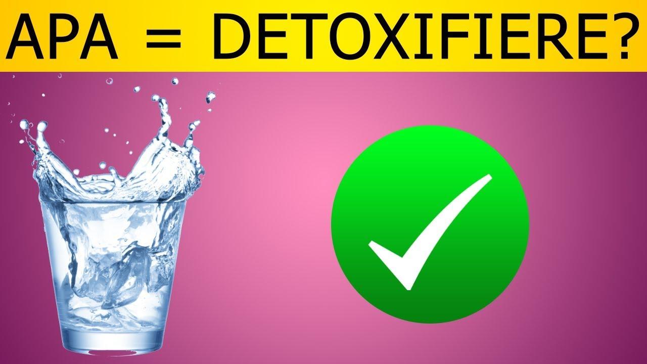 cura de detoxifiere cu apa)