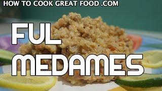 Ful Medames Recipe - Arabic Fava Beans فول مدمس  Mudammasa Vegan