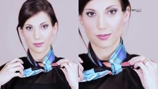 SCARVES, SCARVES, SCARVES - creative ways of wearing your FREYWILLE scarf!
