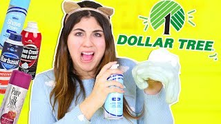 BEST FLUFFY SLIME TEST FROM DOLLAR TREE SHAVING CREAM | Slimeatory #247