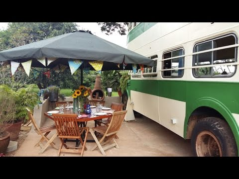 Amazing Two Story Bus Converted Into Tiny House - Youtube