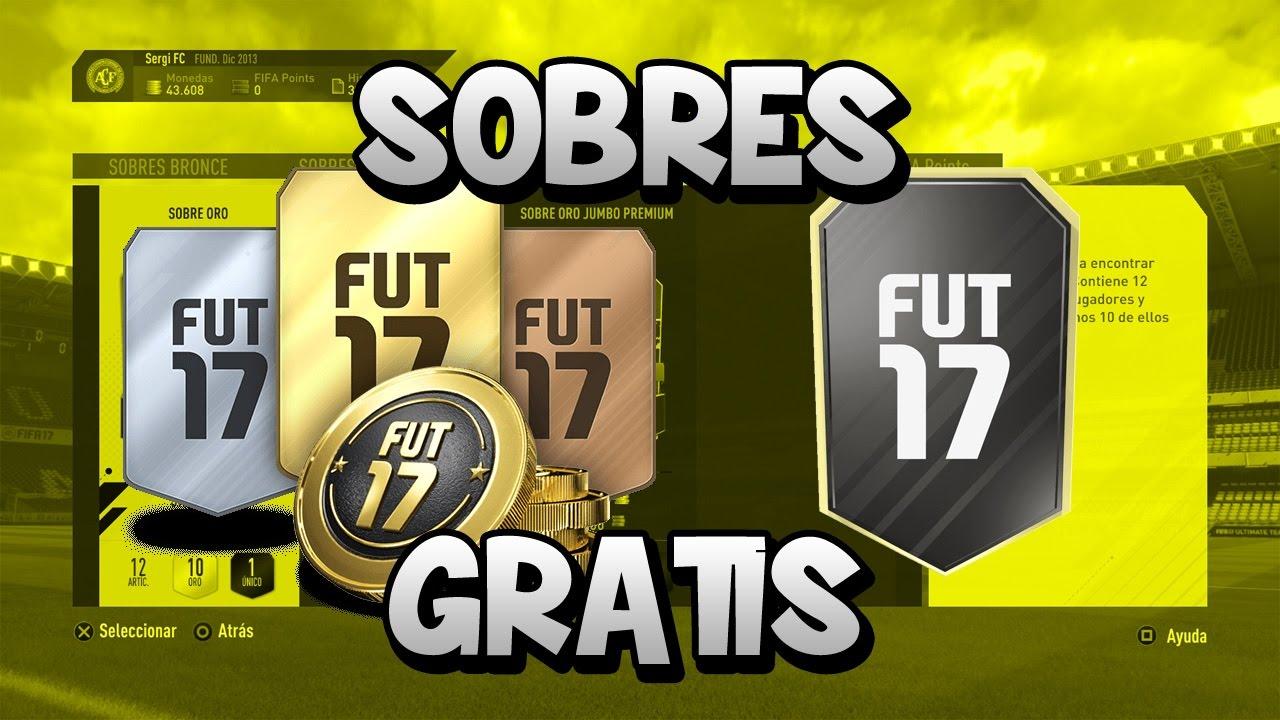 TRUCO SOBRES GRATIS E ILIMITADOS FIFA 17 ULTIMATE TEAM!! | DESAFIO ...