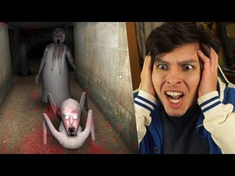 FINAL: GRANNY, SLENDRINA Y EL HIJO !! TODOS A POR MI - Slendrina (Horror Game)