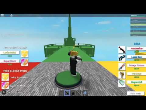 how to make a walkthrough block in roblox 2016