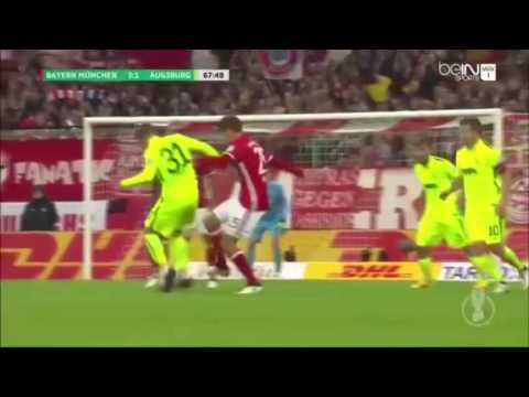 Bayern Munchen vs Augsburg 6-0 - Highlight & Goals Bundesliga 2017 HD