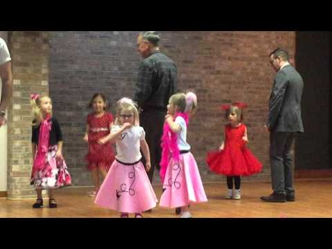 Crystal Lake Park District Daddy Daughter Sock Hop 2016