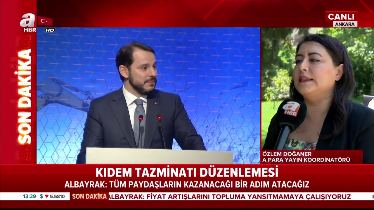 Son dakika Bakan Albayrak'tan kıdem tazminatı açıklaması