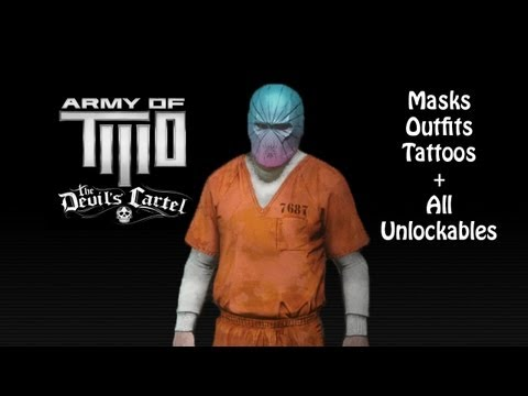 Army Of TWO: The Devil&39;s Cartel - All MasksOutfitsTattoosUnlockables