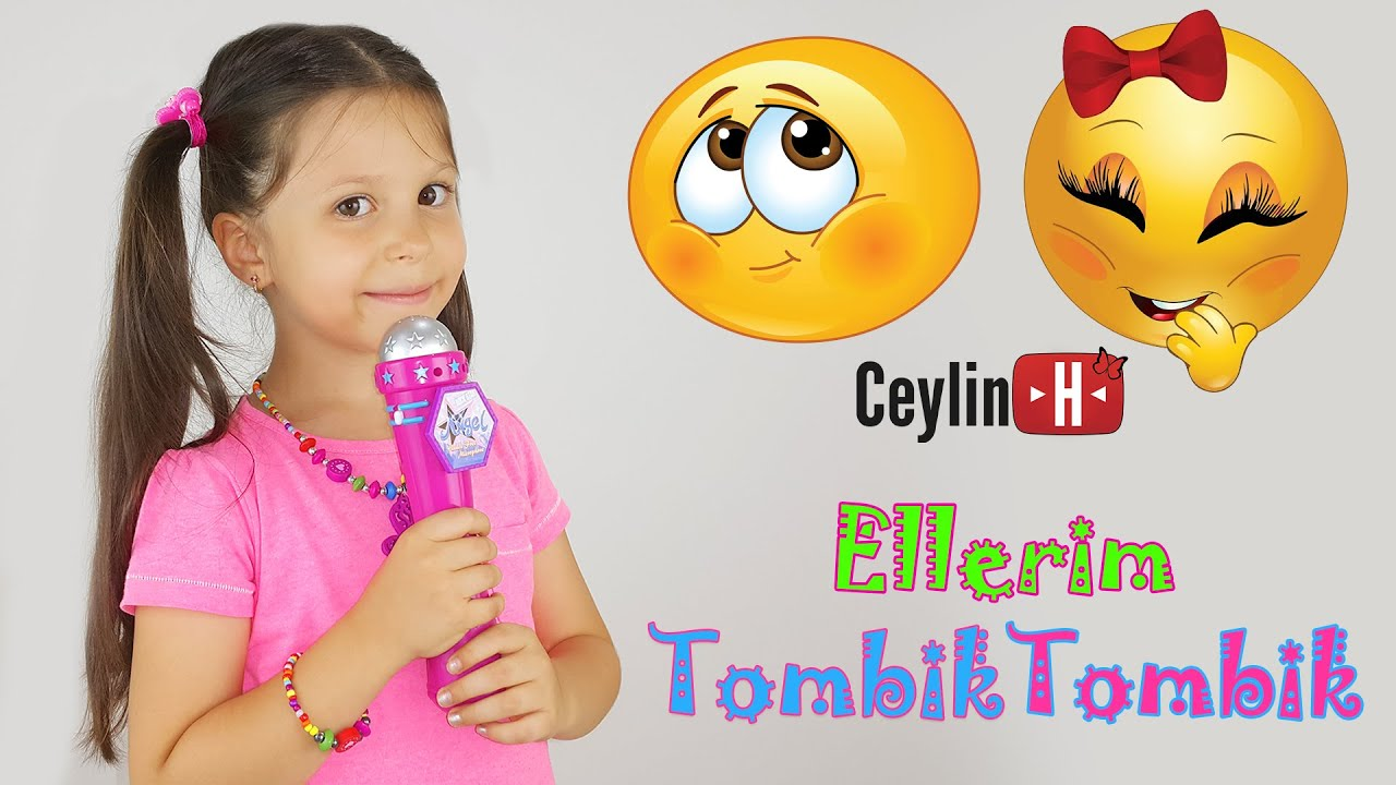 Ceylin-H | Ellerim Tombik (Etkileşimli) - Nursery Rhymes & Super Simple Kids Songs Sing & Da