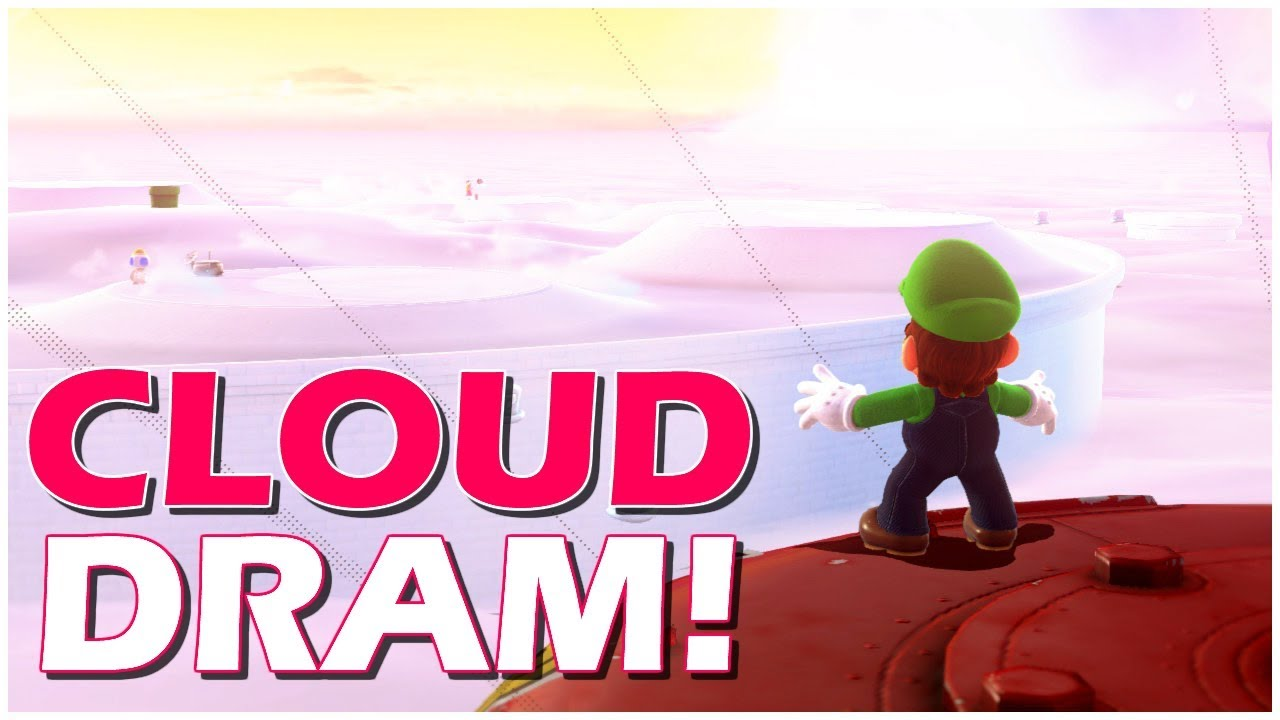 Cloud Dram + Cloud Kingdom Challenges | Super Mario Odyssey