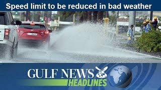 Speed limit to be reduced in bad weather - GN Headlines