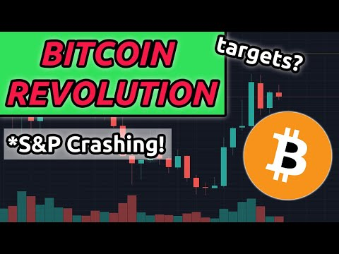 Bitcoin Revolution Beginning as S&P Crashes (BTC Analysis)
